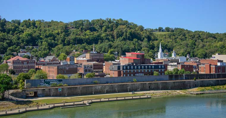 Maysville Kentucky on the Ohio River