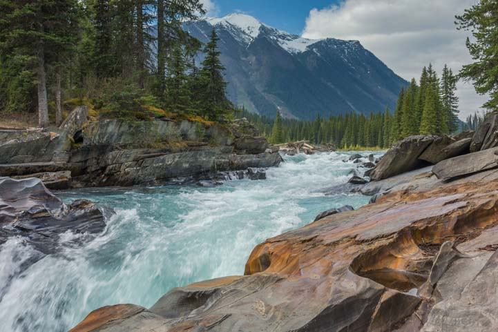 Kootenay National Park Waterfall RV trip