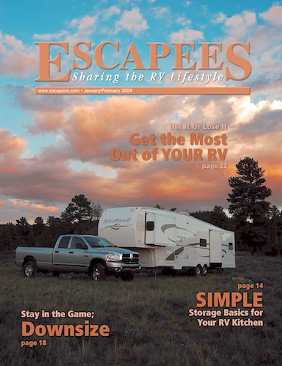 Escapees RV Club Magazine Cover Jan-Feb 2009 Bryce Canyon UT