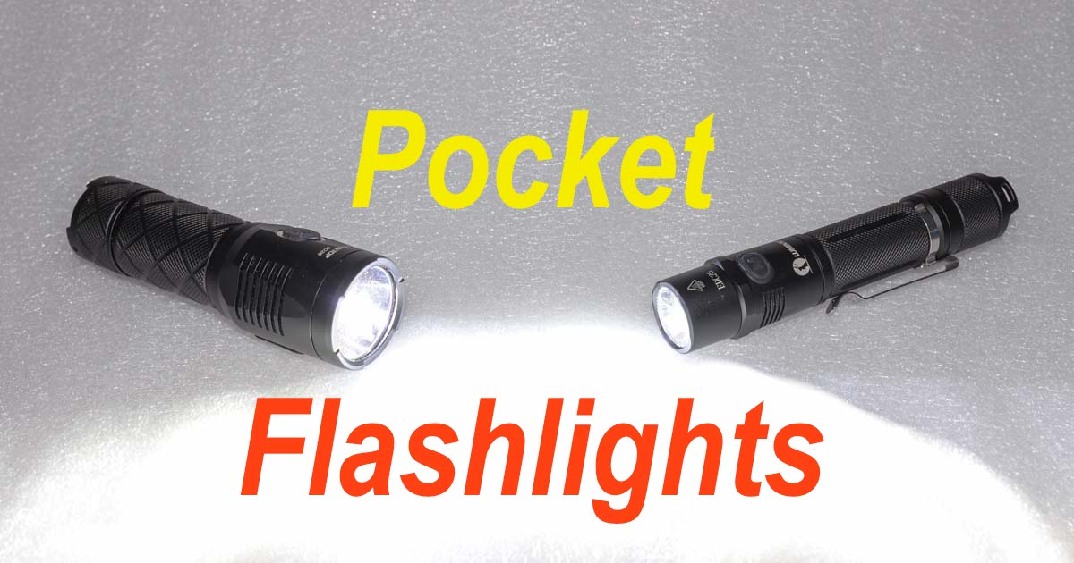 Lumintop EDC25 flashlight review Lumintop SD26 flashlight review 1000 lumen pocket flashlights
