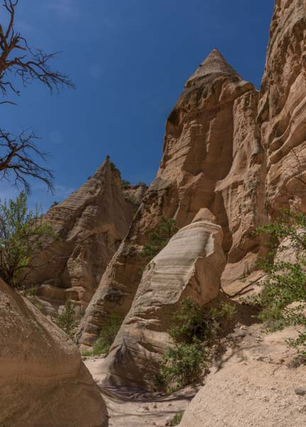 Spires Tent Rocks National Monument New Mexico