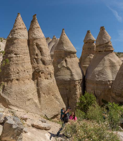 Tent Rocks Selfie Tent Rocks National Monument New Mexico