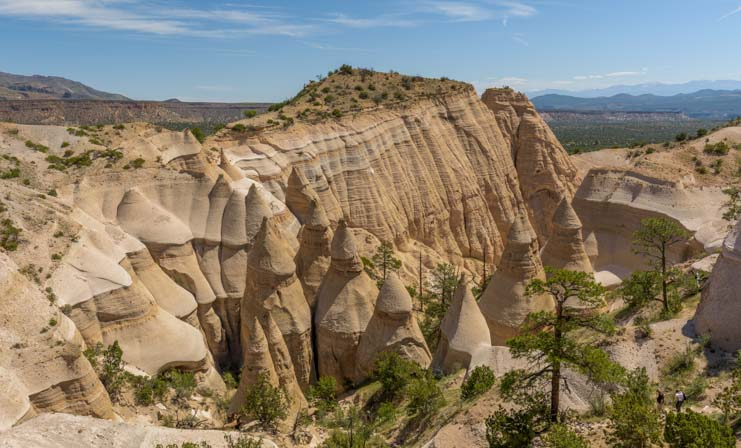 Overlook Tent Rocks National Monument New Mexico