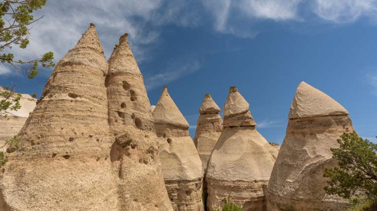 The Tents at Tent Rocks National Monument New Mexico
