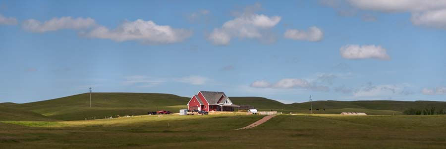 Eastern Wyoming landscape scenery