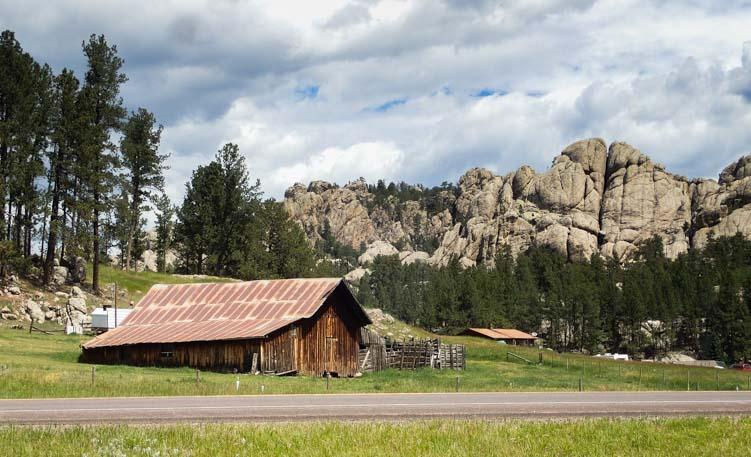 Rock formations Custer South Dakota