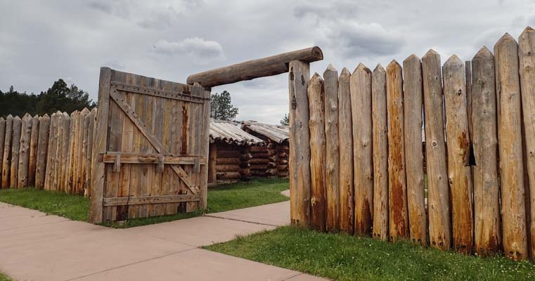 The Stockade Custer South Dakota