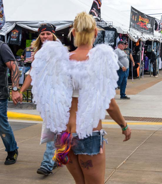 Angel Sturgis Motorcycle Rally South Dakota