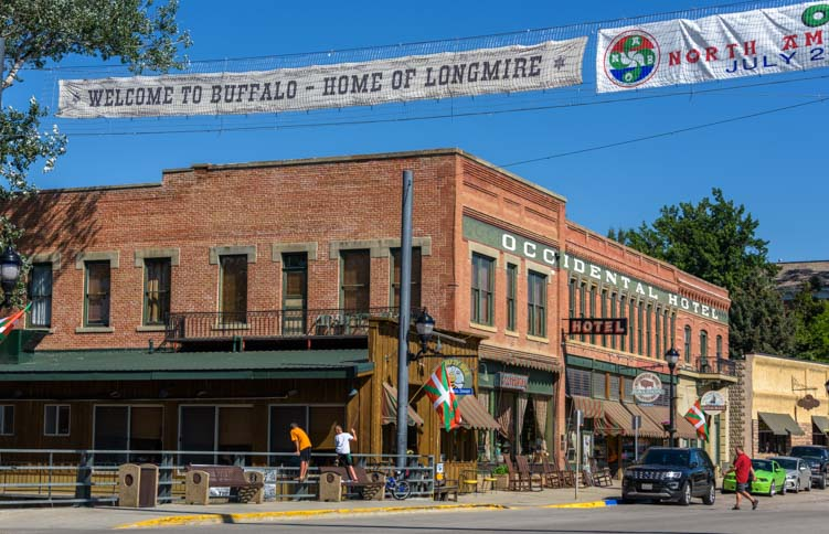 Occidental Hotel Buffalo Wyoming home of Longmire
