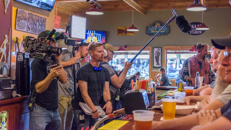 Travel Channel TV Crew Sturgis Motorcycle Rally South Dakota