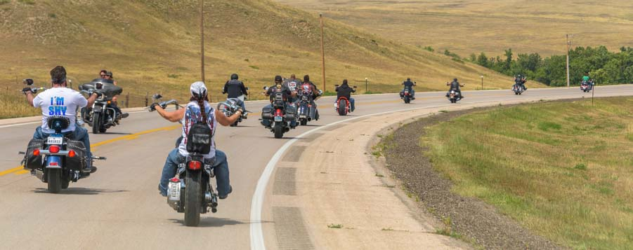 Sturgis motorcycle rally South Dakota