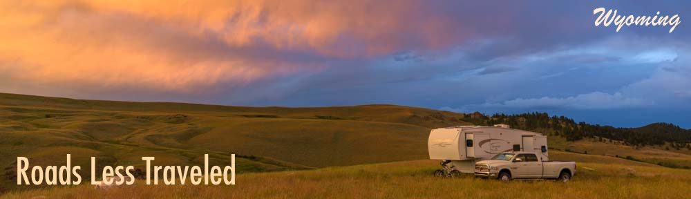 Wyoming RV trips and camping travel adventures