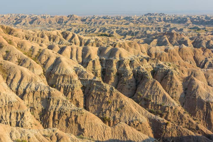 South Dakota Badlands Scenery
