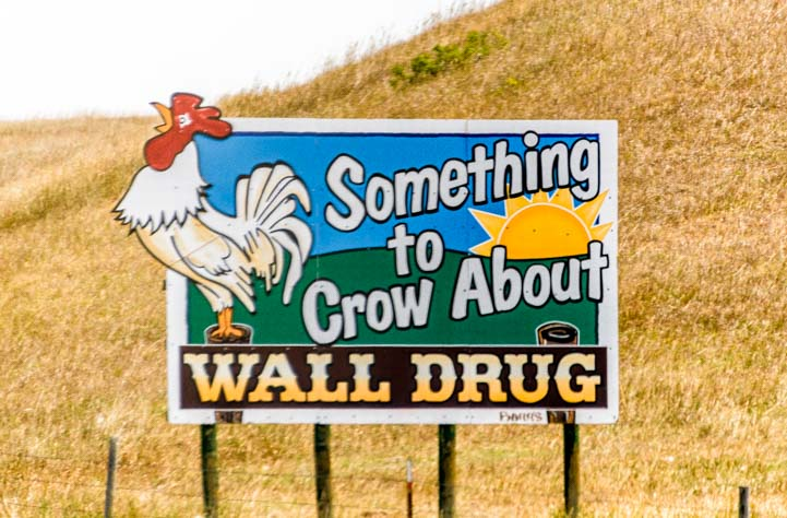 Something to Crow About at Wall Drug Badlands South Dakota