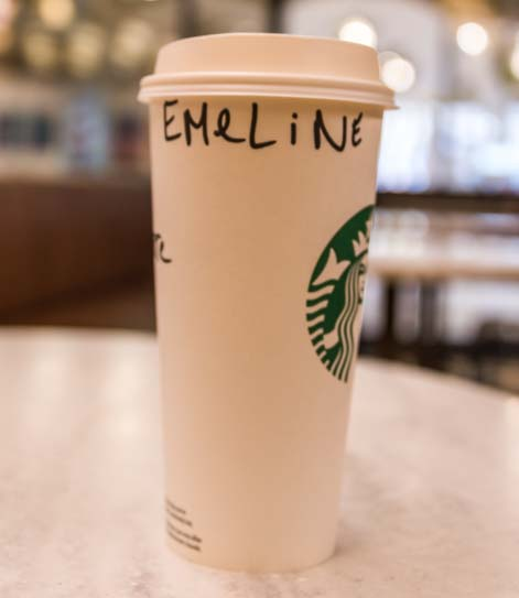 Starbucks coffee in France