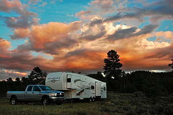 Dixie National Forest is great for dispersed camping.