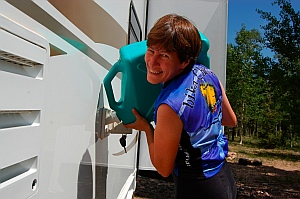 This guide explains how to manage your water storage when you boondock your RV.