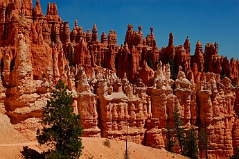 Seeming chess pieces at Bryce Canyon