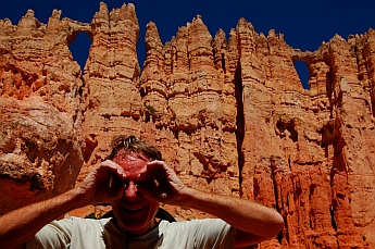 Peek-a-boo, the namesake of the Peek-a-boo trail at Bryce Canyon