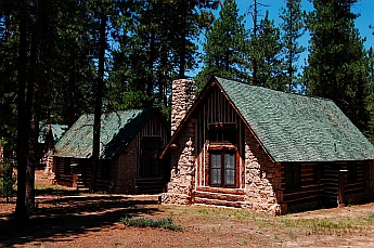 Bryce Lodge has many cute cabins for guests