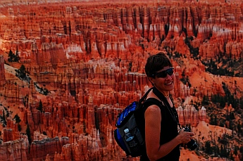 Smiles everywhere at Bryce Canyon