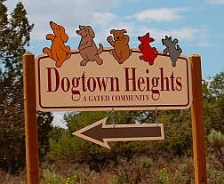 Dogtown Heights at Best Friends Animal Sanctuary, Kanab, Utah