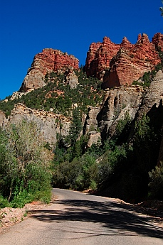 Vermillion Castles in First Left Hand Canyon (Yankee Meadows Road), Parowan, Utah