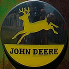 Full-time RV - John Deere Memorabilia, Parowan, UT where we boondocked in our fifth wheel RV.