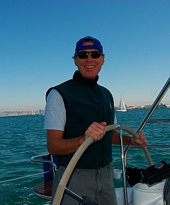 Sailing a Hunter 41DS Sailboat