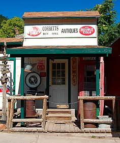 Antiques from the mining days Pioche Nevada