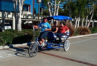 Pedalcab in San Diego