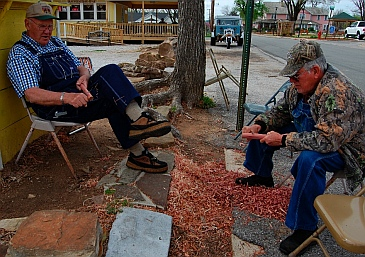 Whittling in Mountain View AR