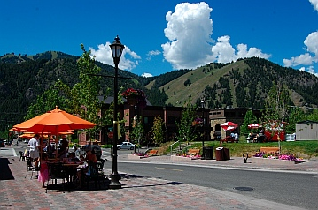 Cafes and bistros in Ketchum Idaho