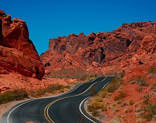 Seven Sisters formation at Valley of Fire