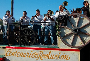 Ensenada Carnaval - Mexican Revolution float