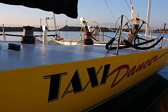 Taxi Dancer, another race boat built for speed