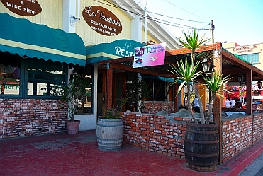 La Vendimia, the cruisers' hangout in Ensenada