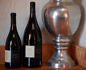 Adobe Guadalupe Winery features wines named for archangels