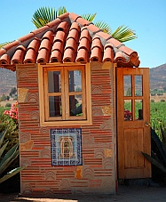 Adobe Guadalupe Winery gatehouse
