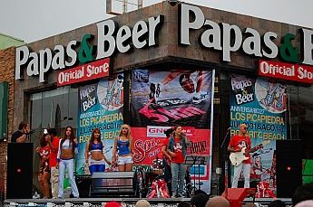 Papas & Beer 5K running race, Ensenada, MX