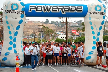 Re-corre tu Puerto 6k running race, Ensenada, Mexico