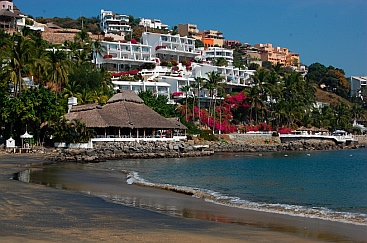 Las Hadas Resort Beach, Manzanillo, Colima, Mexico