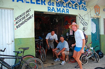 Bike shop in Santiago, Colima, Mexico
