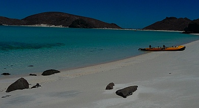 Puerto Balandra (Playa Balandra) outside La Paz, Baja California Sur, Sea of Cortez, Mexico