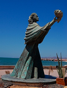 Malecon statues, La Paz, Baja California Sur, Sea of Cortez, Mexico