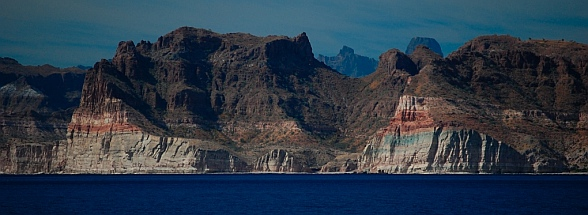 Sierra de la Giganta mountain range, Baja California Sur, Sea of Cortez, Mexico