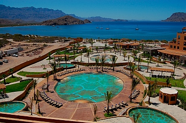 Villa del Palmar Resort, Ensenada Blanca, Baja California Sur, Sea of Cortez, Mexico