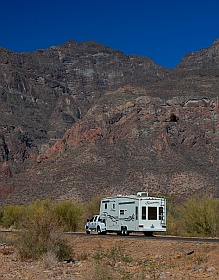 Tripuli RV Park Puerto Escondido near Loreto, Baja California Sur, Sea of Cortez, Mexico