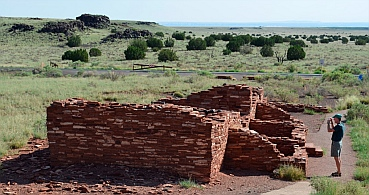 Nalakihu Pueblo in Wupatki National Monument.