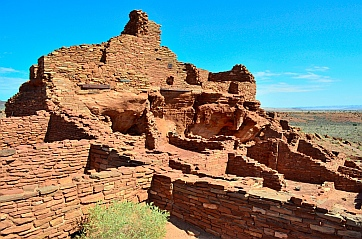 Wupatki Pueblo at Wupatki National Monument, Flagstaff, AZ